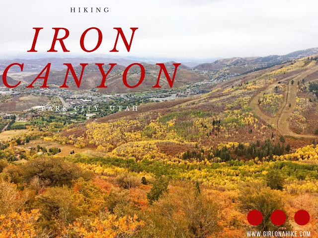 Hiking Iron Canyon, Park City