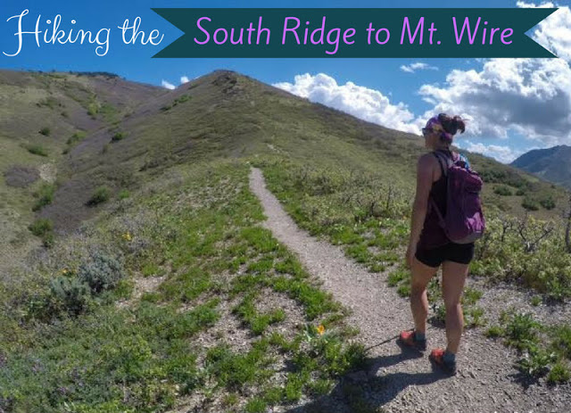 Hiking the South Ridge to Mt. Wire