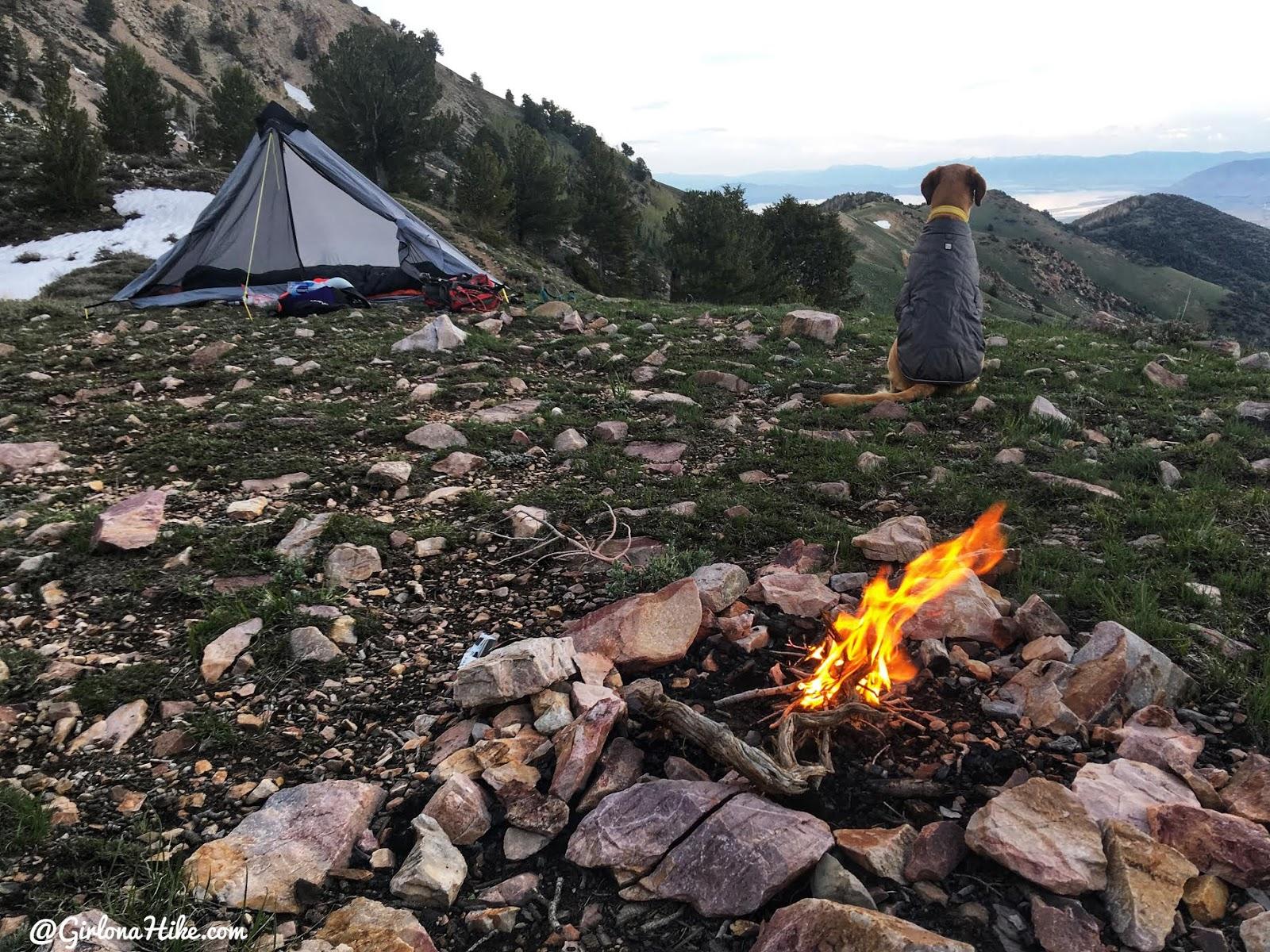 Backpacking to South Willow Lake, Desert Peak Wilderness