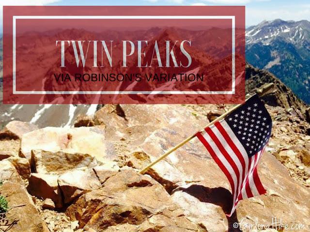 Top 10 Peaks to Bag in Salt Lake City, Broads Fork Twin Peaks