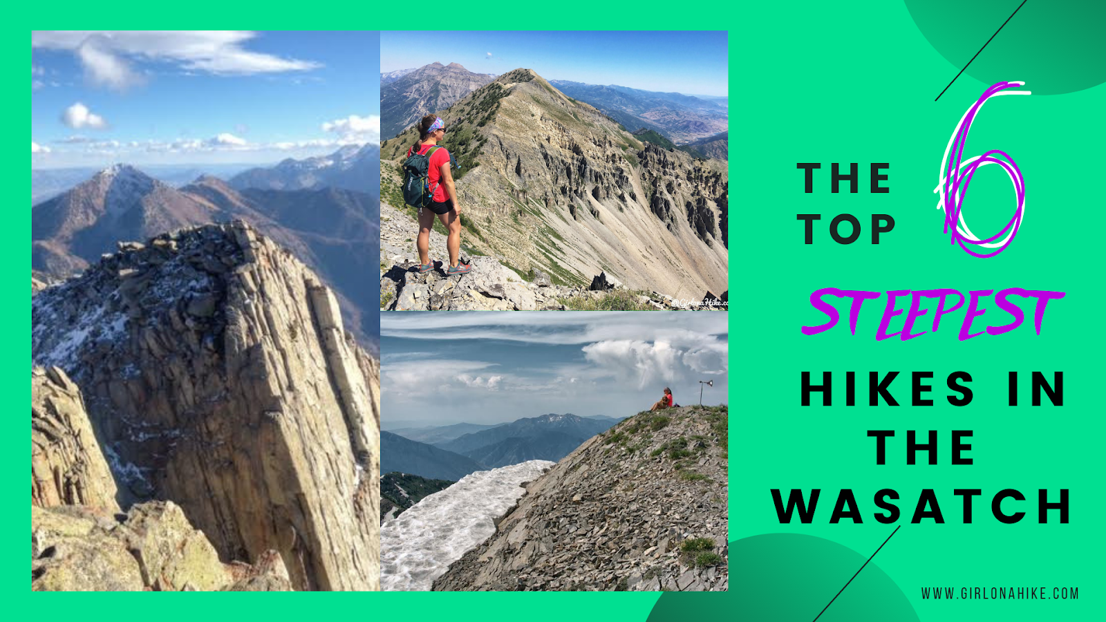 The 6 Steepest Hikes in the Wasatch