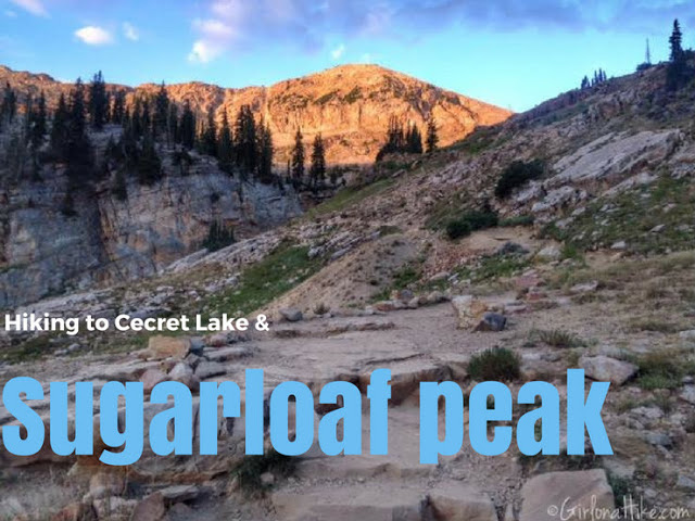 Hiking to Cecret Lake & Sugarloaf Peak, Top 10 Peaks to Bag in Salt Lake City
