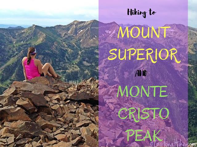 Top 10 Peaks to Bag in Salt Lake City, Mt.Superior Monte Cristo