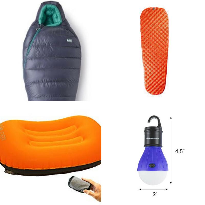 Backpacking Gear List