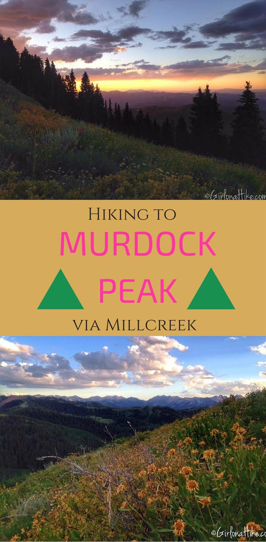 Hiking to Murdock Peak