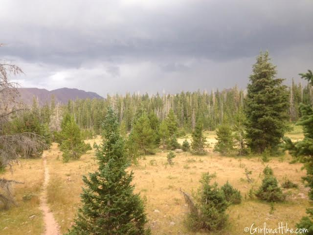 Backpacking to Red Castle Lakes, Uintas