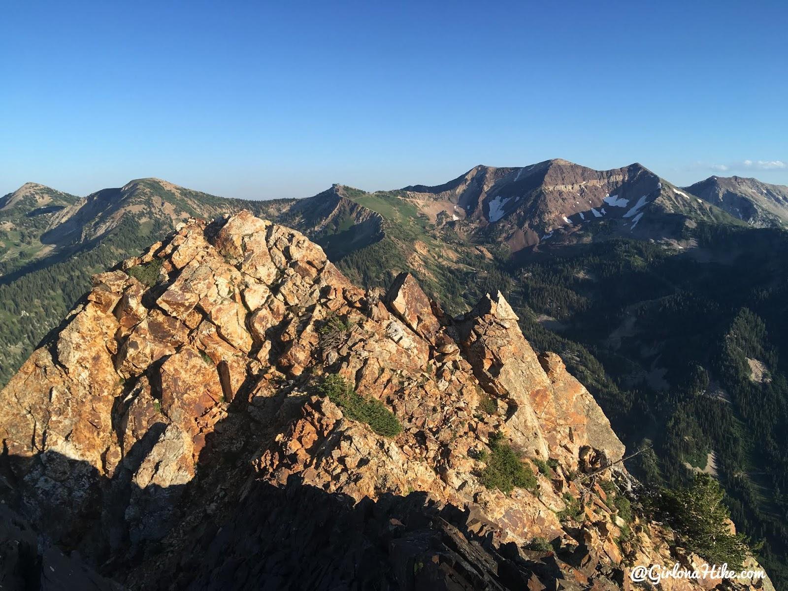 Climbing the South Ridge of Mt.Superior