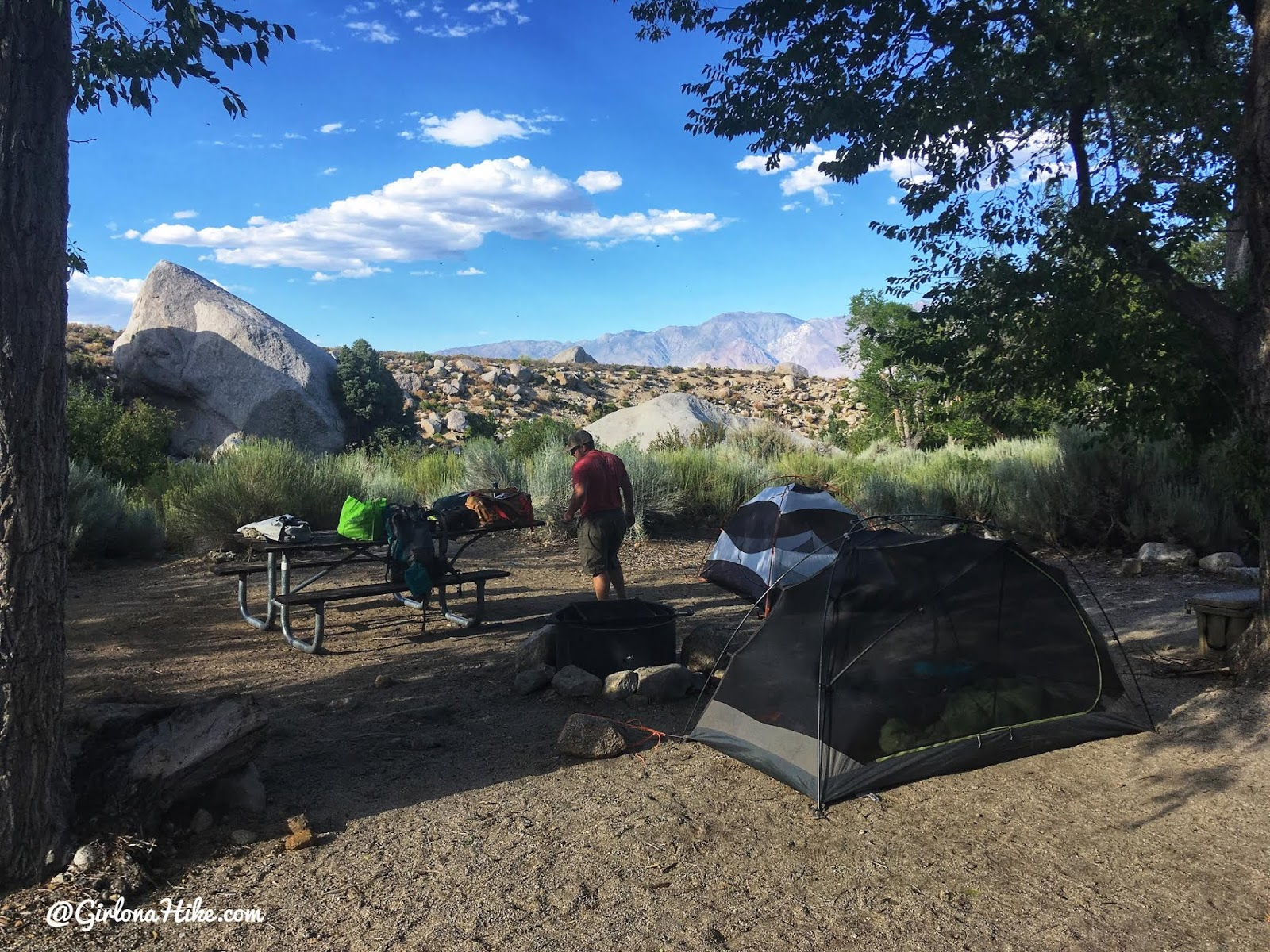 Hiking to Mt.Whitney, Hiking Mt.Whitney in 2020, lone pine campground