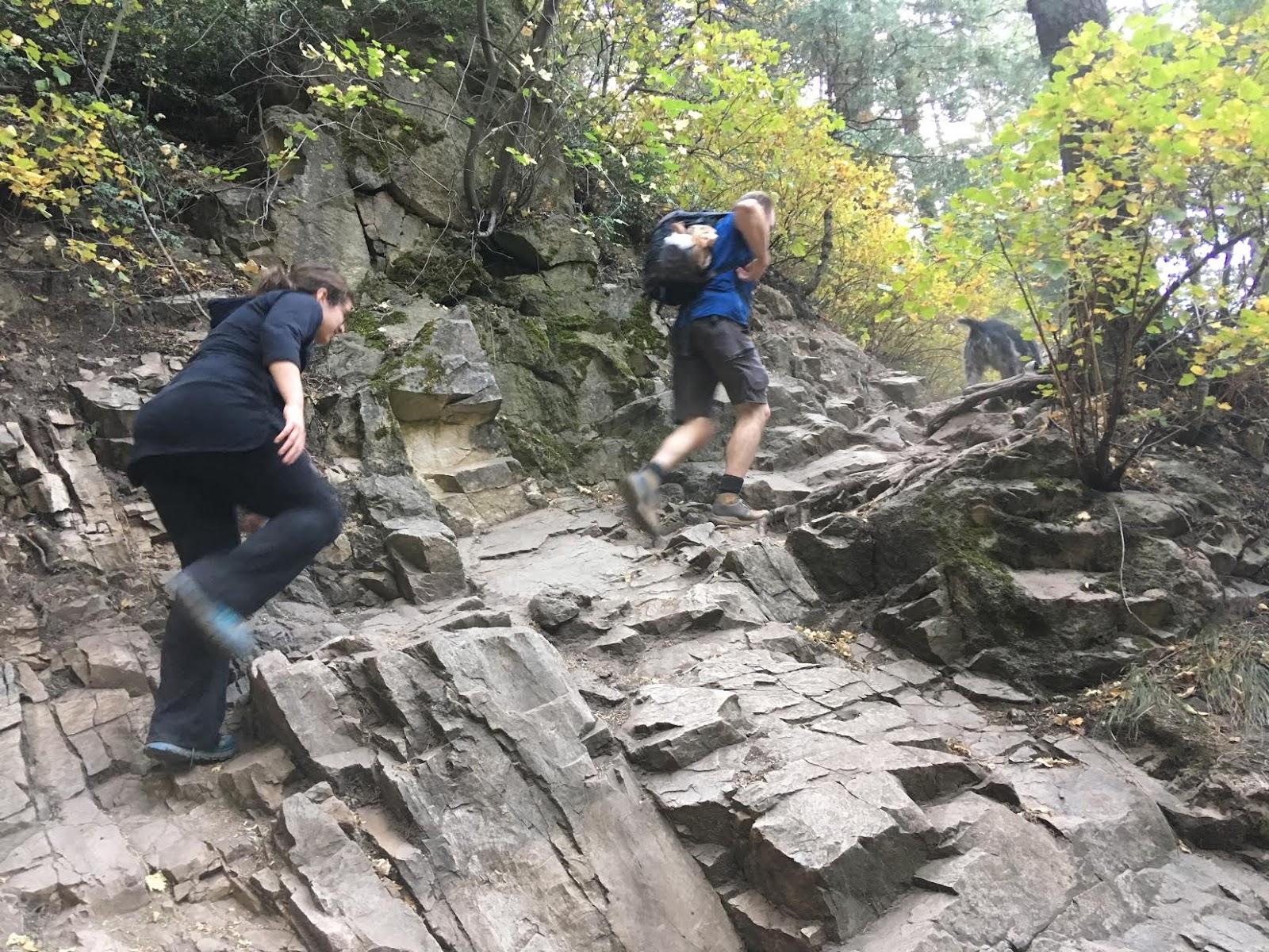 Hiking to Desolation Overlook, Hiking to the Salt Lake Overlook, Millcreek Canyon