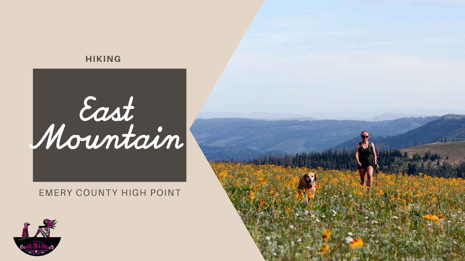 Hiking to East Mountain, Emery County High Point
