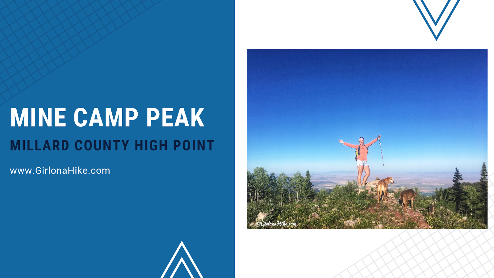 Hiking to Mine Camp Peak, Millard County High Point, Utah county high points
