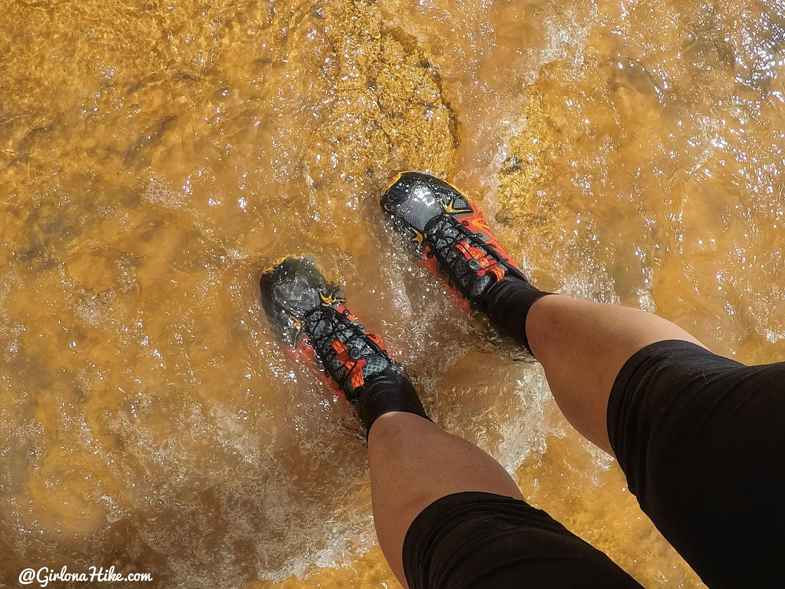 Hiking Sulphur Creek, Capitol Reef National Park