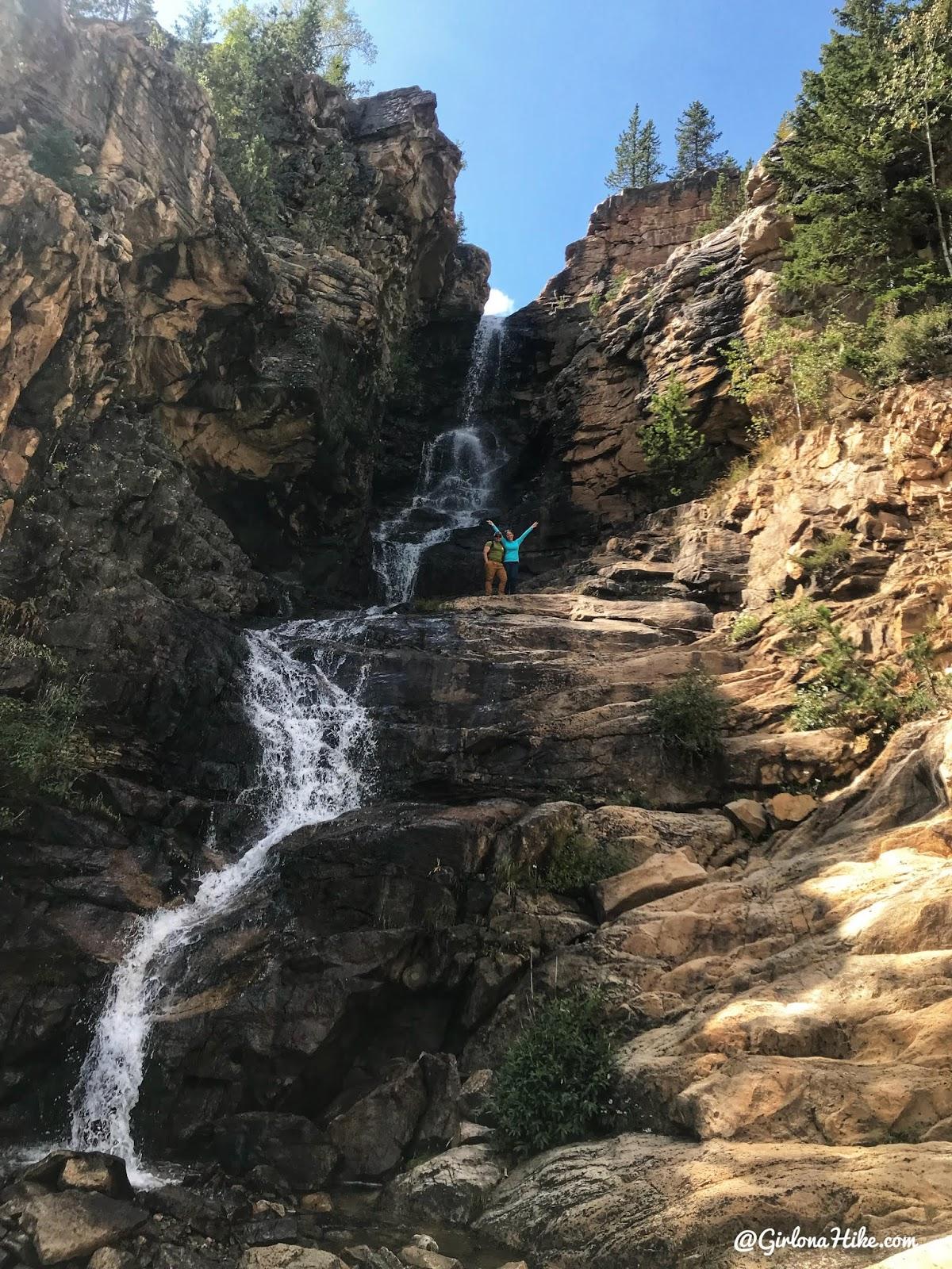 Exploring the Cataract Gorge, Uintas