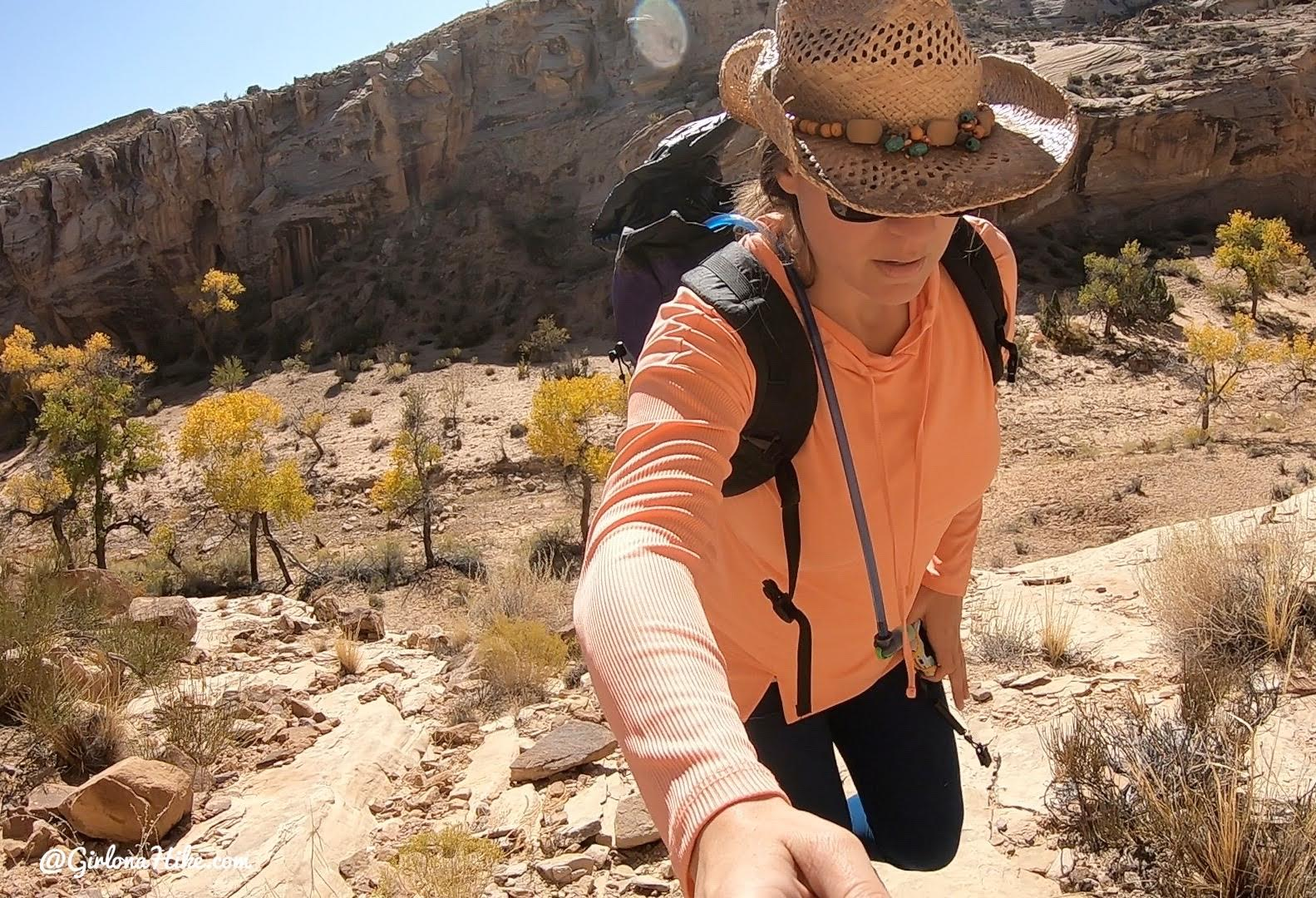 Hiking the Cottonwood Wash Trail, San Rafael Swell