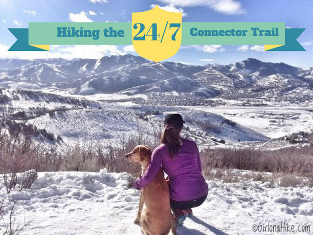 Hiking the 24/7 Connector Trail, Park City, Utah