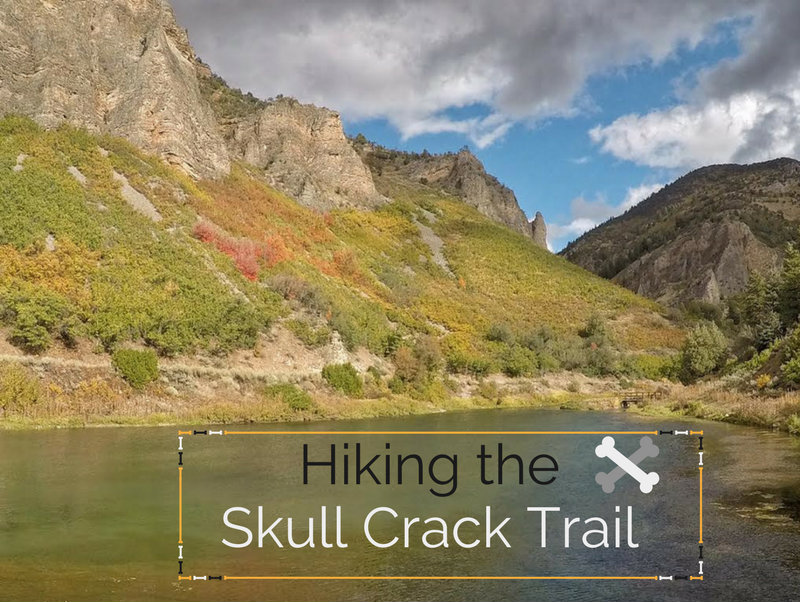 Hiking the Skull Crack Trail, Causey Reservoir