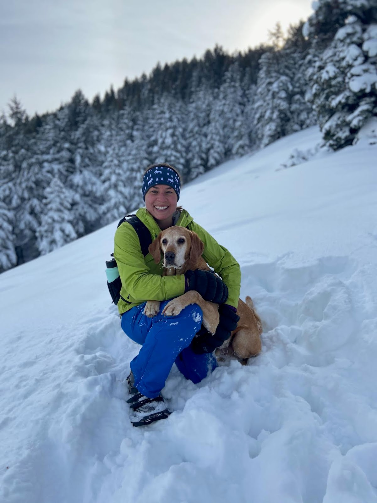 Hiking to Summit Park Peak, Utah