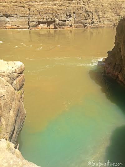 Hiking from Mooney Falls to the Colorado River! Colorado Confluence