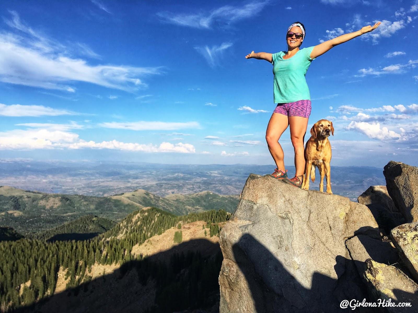 Hiking to Clayton Peak
