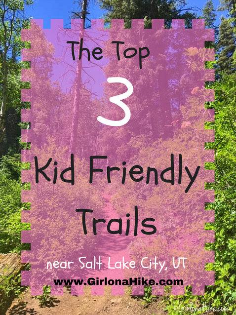 Top 3 Kid Friendly Trails near Salt Lake City, Utah