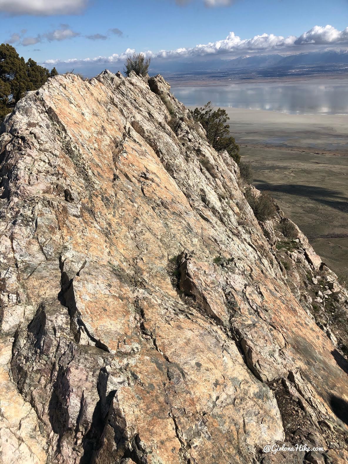 Hiking Frary Peak, Antelope Island State Park
