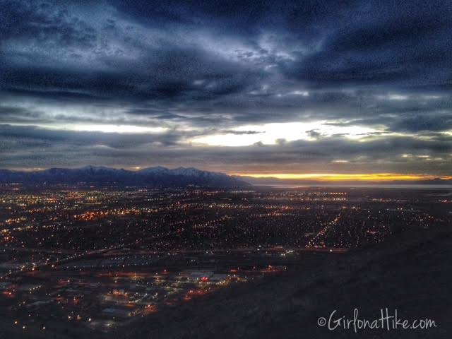 Ensign Peak, Utah, Best Utah sunset photo spots