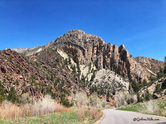 Camping & Exploring at Flaming Gorge National Rec Area, Sheep Creek canyon geological scenic drive