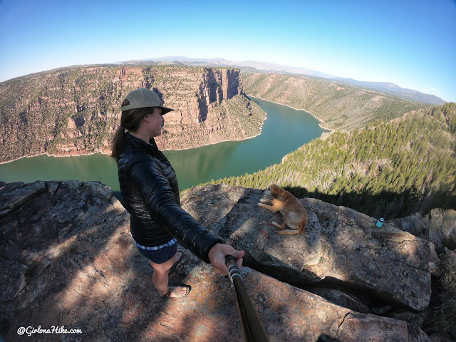 Camping & Exploring at Flaming Gorge National Rec Area, camping at Red Canyon Overlook