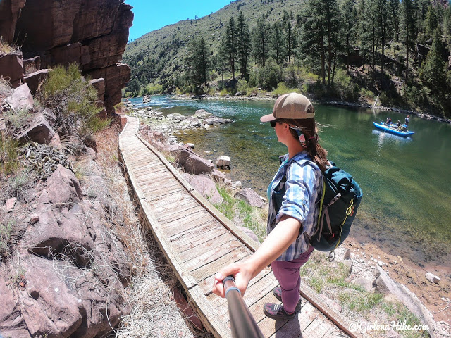 Camping & Exploring at Flaming Gorge National Rec Area