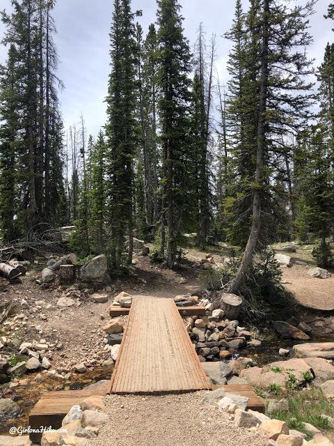 Hiking to Long Lake & Island Lake, Uintas