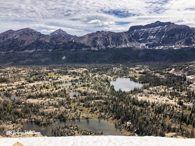 Hiking the Lofty Lake Loop & Cuberant Lake, Uintas