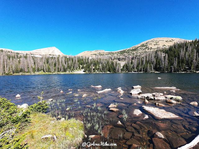 Backpacking to Naturalist Basin, Uintas