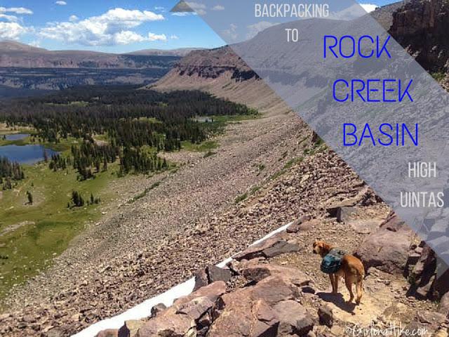 Backpacking to Rock Creek Basin, Uintas