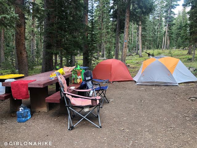 Hiking the Crag Crest Trail, Grand Mesa, Colorado, Cobbett Lake Campground