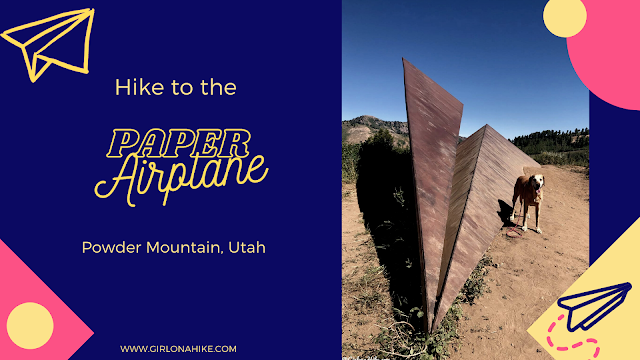 Hiking to the Paper Airplane, Powder Mountain, Utah