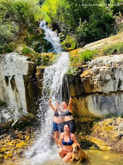 Hiking to Salt Creek Canyon Falls, Utah