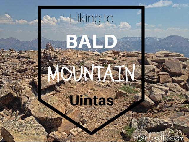 Hiking to Bald Mountain, High Uintas