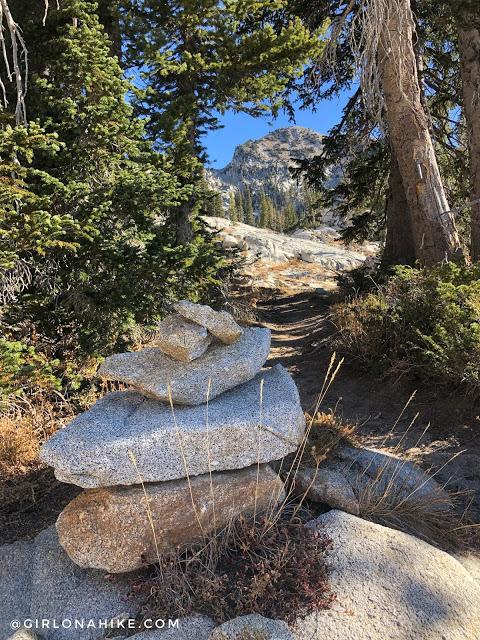 Hiking to Lake Hardy, Lone Peak Wilderness