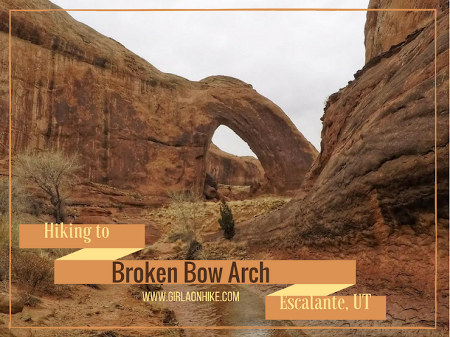 The Ultimate Guide - Dog Friendly Hikes in Escalante, Utah! Hike to Broken Bow Arch