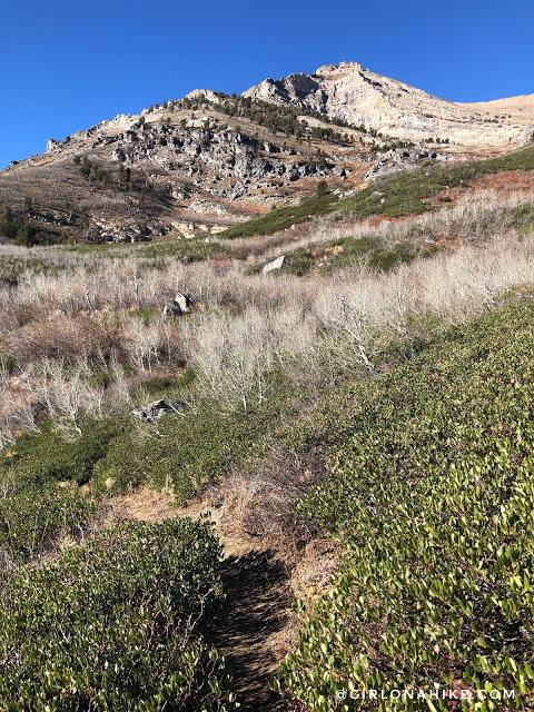 Hiking to Winchell Lake, Nevada