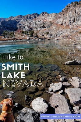 Hiking to Smith Lake via Angel Lake Trail, Nevada