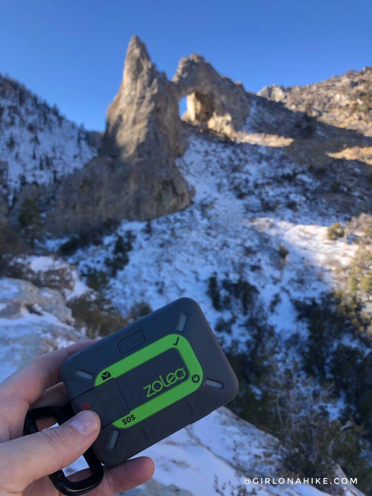 Hike to Lexington Arch, Nevada
