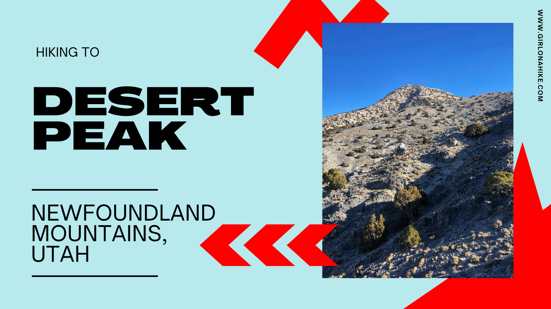 Hiking to Desert Peak, Newfoundland Mountains
