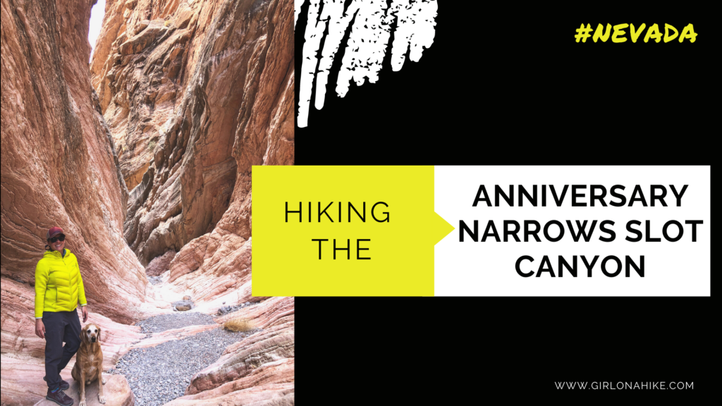 Hiking the Anniversary Narrows Slot Canyon, Nevada