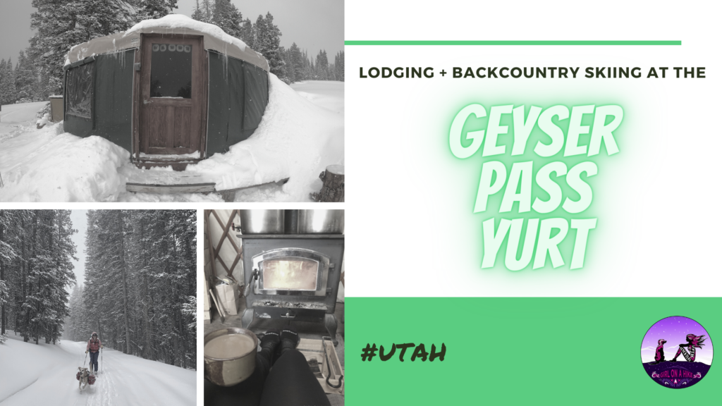 Lodging at the Geyser Pass Yurt, Backcountry Skiing Geyser Pass