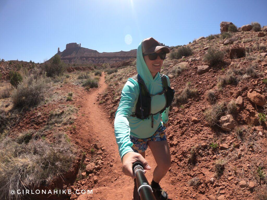 Hiking Mary Jane Slot Canyon, Moab