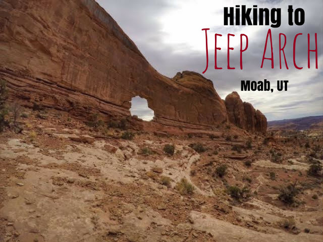 Hike Jeep Arch, The Best Moab Arch Hikes Outside of Arches National Park