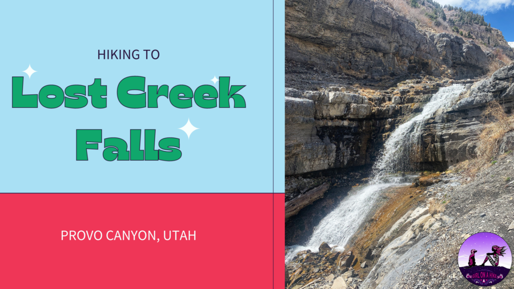 Hiking to Lost Creek Falls, Provo Canyon