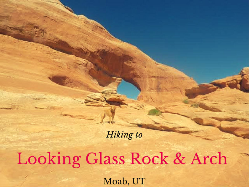 Looking Glass Rock and Arch, The Best Moab Arch Hikes Outside of Arches National Park
