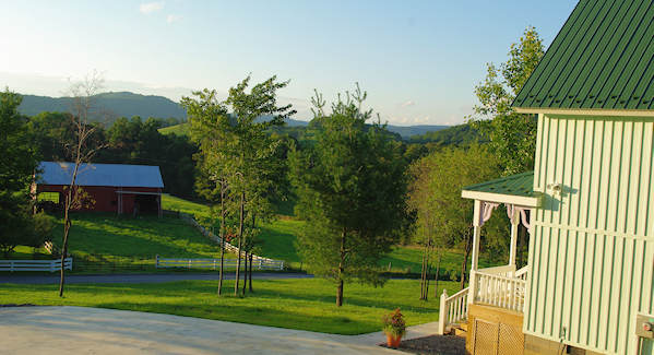 West Virginia Cottage Porch